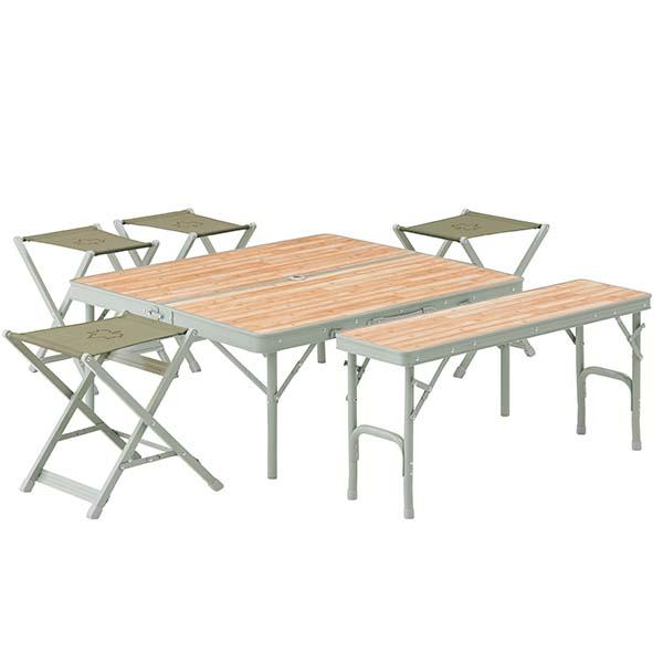 LOGOS Life Bench Table Set 6